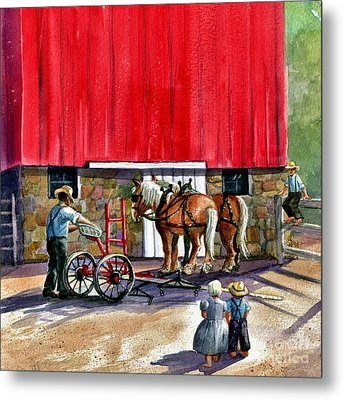 Another Way Of Life Metal Print by Marilyn Smith