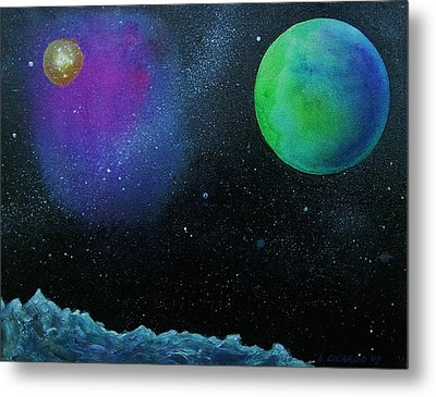 Another World - Sold Metal Print by Lou Cicardo