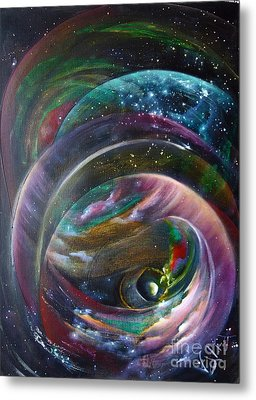 Another World13 Metal Print by Valia US