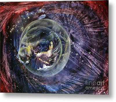 Another World5 Metal Print by Valia US