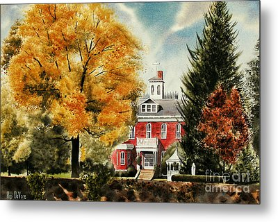 Antebellum Autumn II Metal Print by Kip DeVore