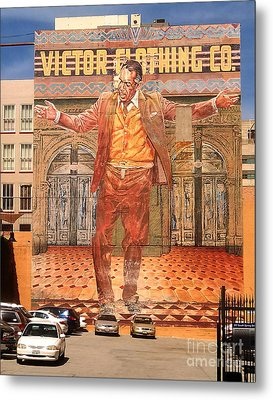 Anthony Quinn Mural Metal Print by Gregory Dyer