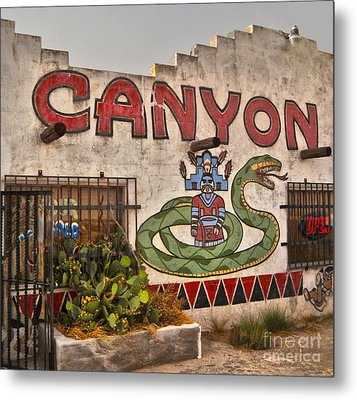 Apache Canyon Trading Post Metal Print by Gregory Dyer