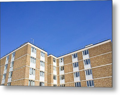 Apartments Metal Print by Tom Gowanlock