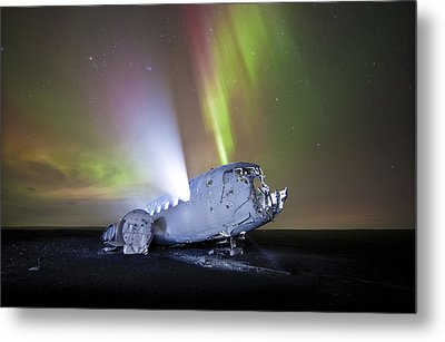 Apocalyptic Aurora Metal Print by Timm Chapman