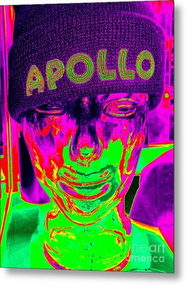 Apollo Abstract Metal Print by Ed Weidman