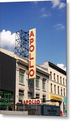 Apollo Theater Metal Print by Martin Jones