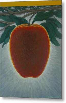 Apple 2 In A Series Of 3 Metal Print by Don Young