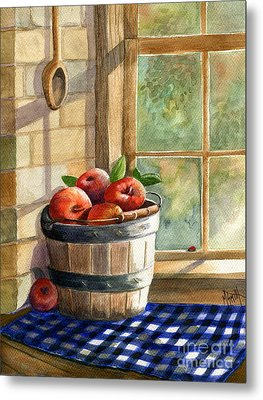 Apple Harvest Metal Print by Marilyn Smith