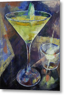 Appletini Metal Print by Michael Creese