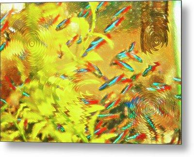 Aquarium Art 7 Metal Print by Steve Ohlsen