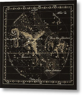 Aqulia Constellations, 1829 Metal Print by Science Photo Library