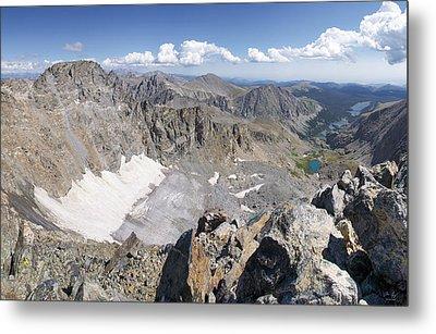 Arapaho Glacier Metal Print by Aaron Spong