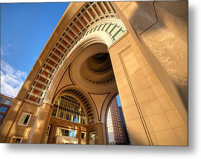 Arch Metal Print by Lee Costa