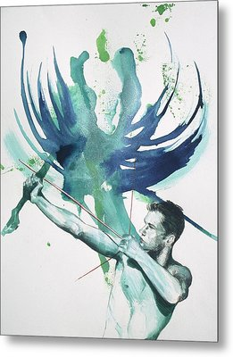 Archer Metal Print by Rene Capone