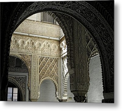 Arches Metal Print by Jennifer Wheatley Wolf