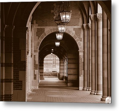 Arches Of Royce Hall, University Metal Print by Panoramic Images