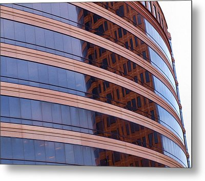 Architecture 1 Metal Print by Tom Druin