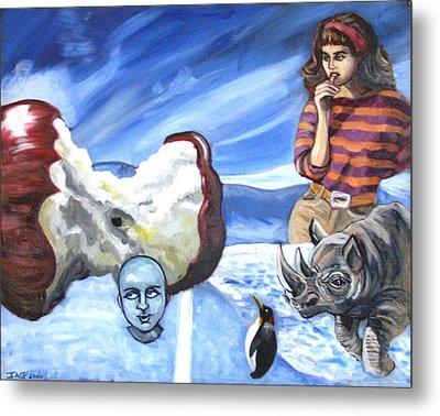 Arctic Soiree Metal Print by John Ashton Golden