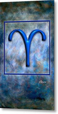 Aries  Metal Print by Mauro Celotti