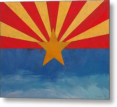 Arizona Metal Print by Michael Creese