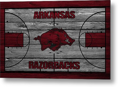 Arkansas Razorbacks Metal Print by Joe Hamilton