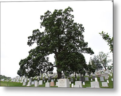 Arlington National Cemetery - 01134 Metal Print by DC Photographer