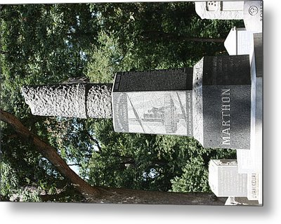 Arlington National Cemetery - 121217 Metal Print by DC Photographer