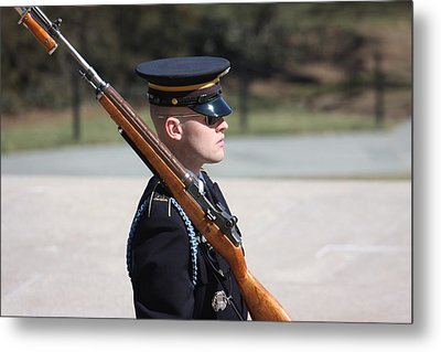 Arlington National Cemetery - Tomb Of The Unknown Soldier - 121219 Metal Print by DC Photographer