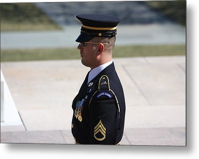 Arlington National Cemetery - Tomb Of The Unknown Soldier - 121224 Metal Print by DC Photographer