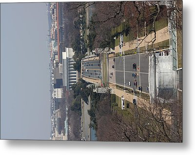 Arlington National Cemetery - View From Arlington House - 12121 Metal Print by DC Photographer