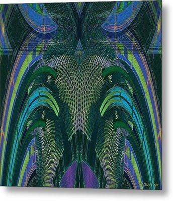Armadillus Rex Metal Print by Bill Jonas