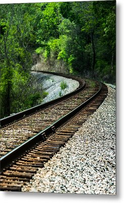 Around The Bend Metal Print by Parker Cunningham