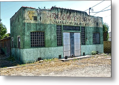 Arrow Creamery - Chino Ca - 02 Metal Print by Gregory Dyer