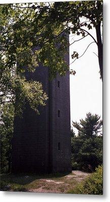 Artillery Spotting Tower Metal Print by David Fiske