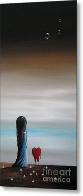 As Dreams Pass Her By By Shawna Erback Metal Print by Shawna Erback