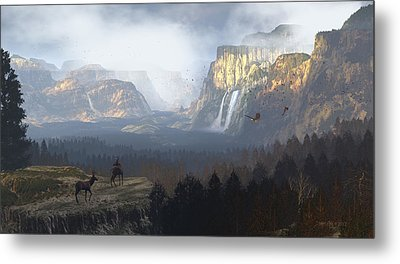 As It Was Meant To Be Metal Print by Dieter Carlton