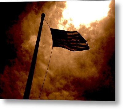 Ascend From Darkness Metal Print by Paulo Guimaraes