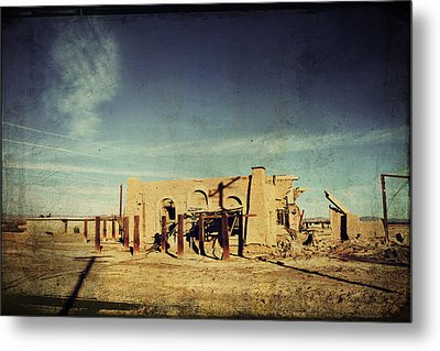 Ashes To Ashes Metal Print by Laurie Search