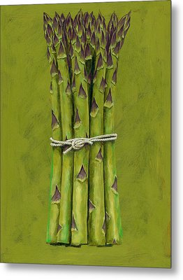 Asparagus Metal Print by Brian James