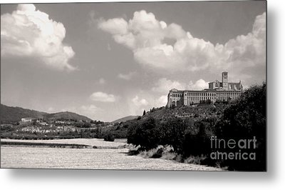 Assisi Italy -  Basilica Of San Francesco D'assisi Metal Print by Gregory Dyer