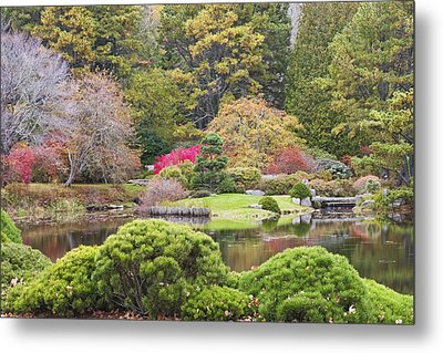 Asticou Azelea Garden - Northeast Harbor - Mount Desert Island - Maine Metal Print by Keith Webber Jr