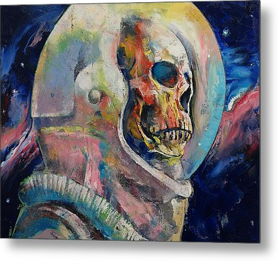 Astronaut Metal Print by Michael Creese