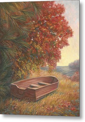 At Rest Metal Print by Lucie Bilodeau