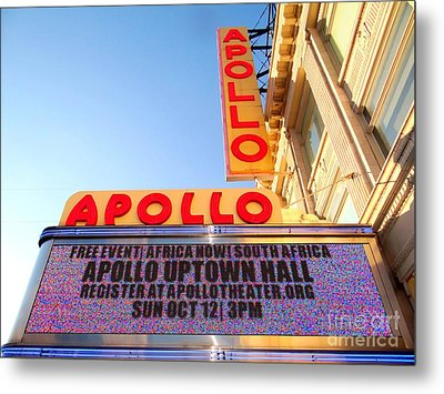 At The Apollo Metal Print by Ed Weidman