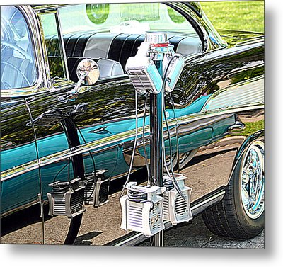 At The Drive In Metal Print by AJ  Schibig