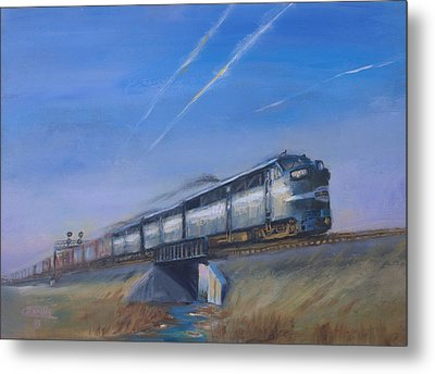 At Track Speed Metal Print by Christopher Jenkins