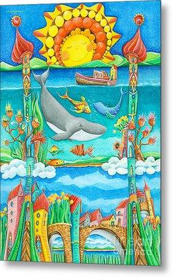 Atlantis Metal Print by Sonja Mengkowski