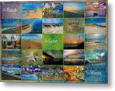 Atmospheric Beaches   Metal Print by Betsy Knapp