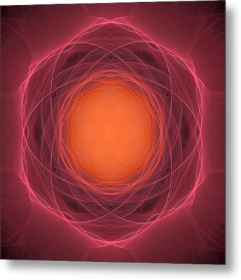 Atome-13 Metal Print by RochVanh